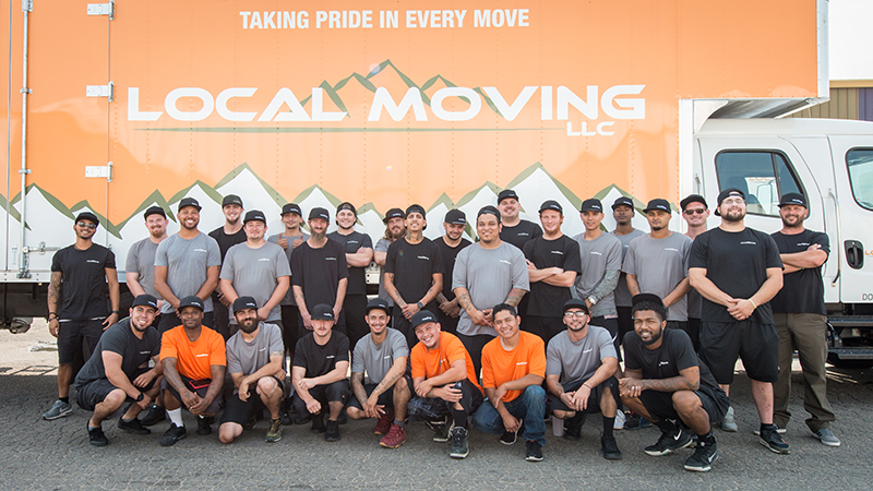 An image of our Local Moving LLC team.